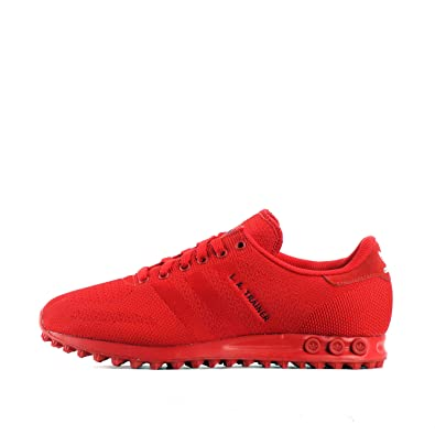 802f45609e adidas La Trainer Weave, Baskets Mode pour Homme Rouge Red/Red - Rouge -