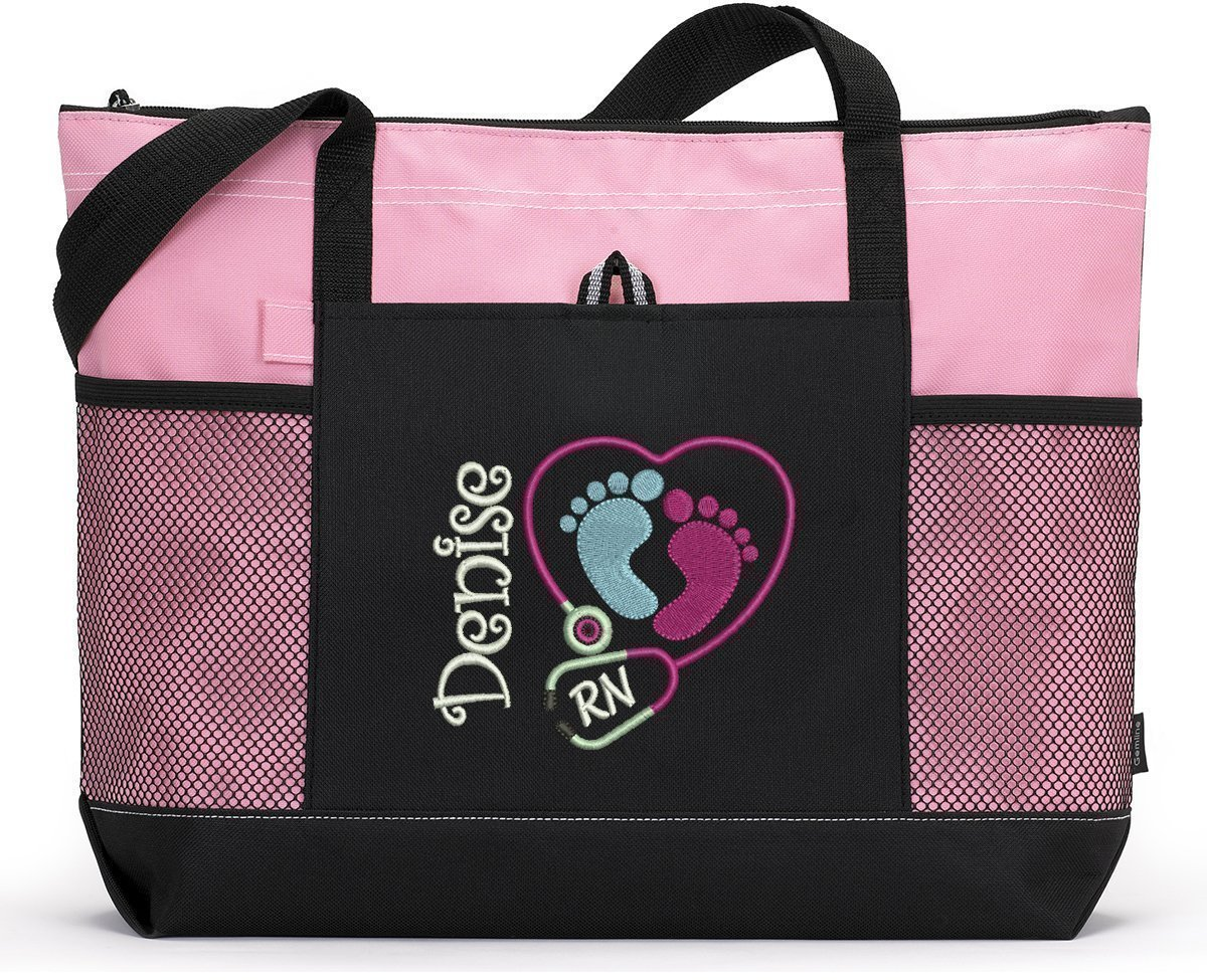 Pediatric Nurse / NICU Personalized Embroidered Tote Bag