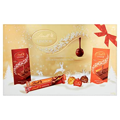 Lindt Lindor Selection Box, 500 g
