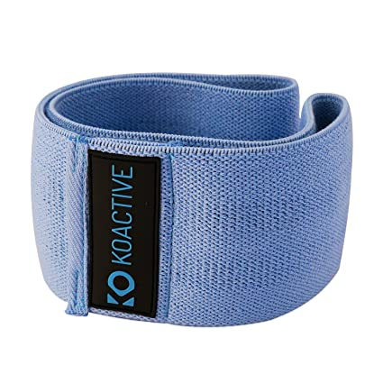 6d7736a9c67 koactive Resistance Hip Band Circle – Premium Non-Slip   Soft High Level  Resistance Band – Compact Bootie Shaping Workout Flexor – Full Dynamic  Exercise ...