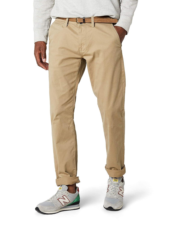 TALLA 36W / 36L. Tom Tailor 64047870910, Pantalones con Cinturón Para Hombre