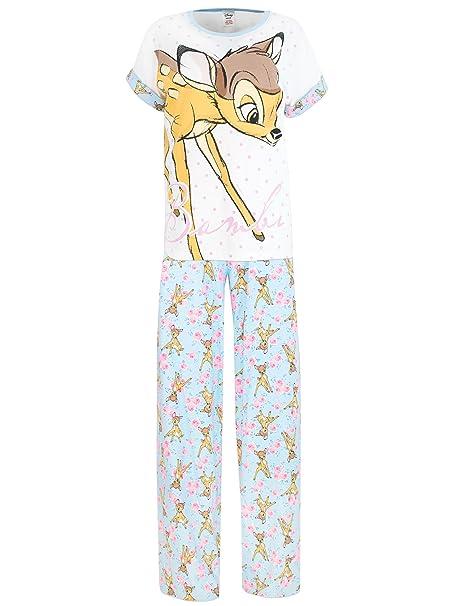 Disney Bambi - Pijama para mujer - Bambi - Small