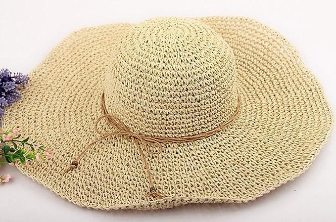 524aca2892f30 2017 Primavera Y El Verano Sombreros Tejidos A Mano Sombrero Salvaje Dayan  Mao Sombrero De Playa