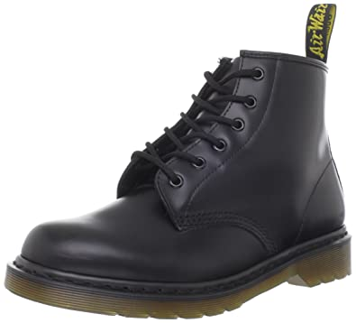 finest selection db816 010d7 Dr. Martens 101 Smooth 6 Eye Boot , Stivaletti Unisex Adulto