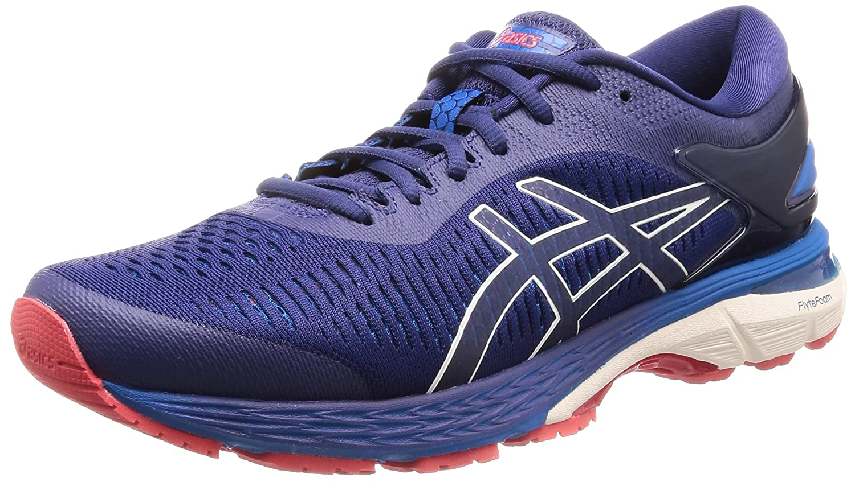 Asics Gel-Kayano 25, Zapatillas de Running para Hombre 39 EU|Azul (Indigo Blue/Cream 400)