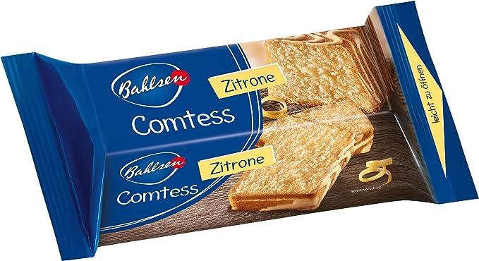 Bahlsen Comtess Limón (Pack de 8, ...