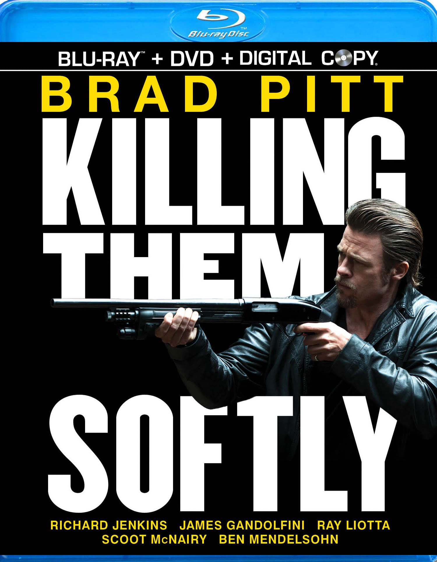 Blu-ray : Killing Them Softly (With DVD, 3 Pack, Digital Copy, 3PC)