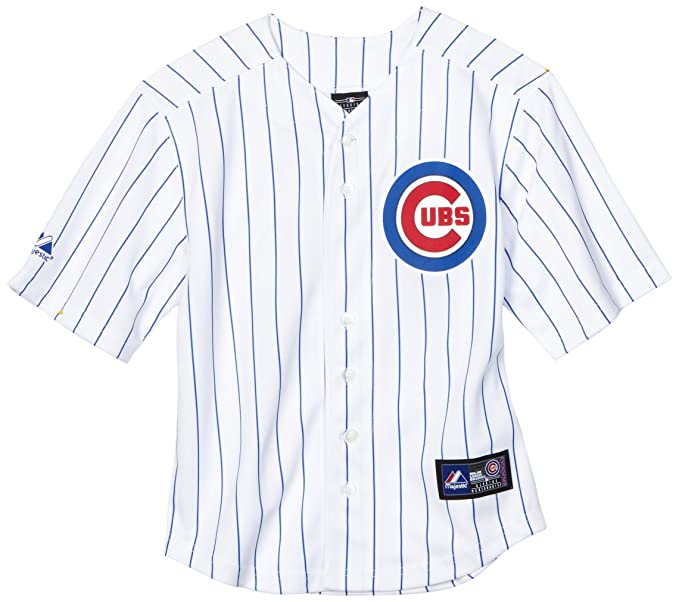 MLB Boys  Chicago Cubs Geovany Soto Name   Number Player Jersey (White Royal 94e1e17cb5f2