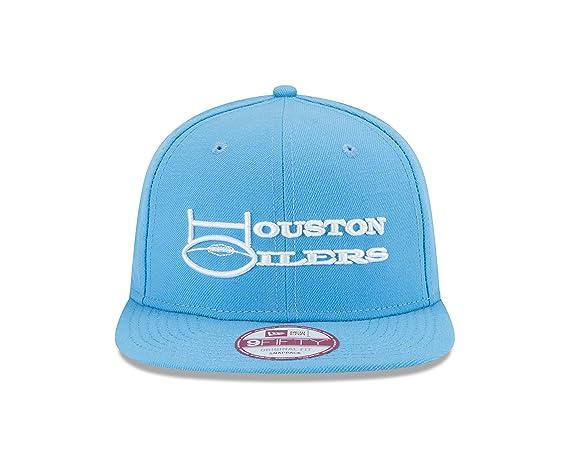 1616906df4f Amazon.com   New Era NFL Historic Houston Oilers Wordmark Baycik 9FIFTY  Snapback   Sports   Outdoors