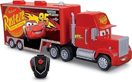 Amazon Com Cars Rc Mack Hauler Vehicle Toys Games