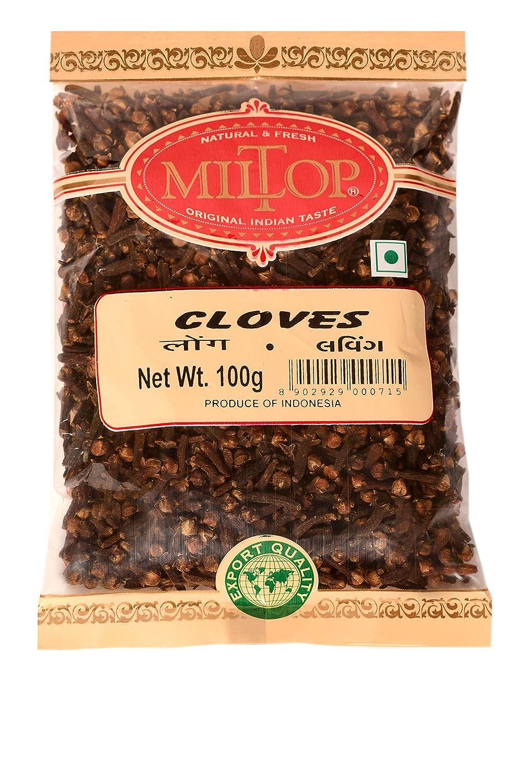 Miltop Premium Quality Long Clove Whole Spice, 200g