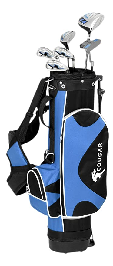 Cougar Junior Golf Starter Set - (Blue/black/white, 11-13 ...