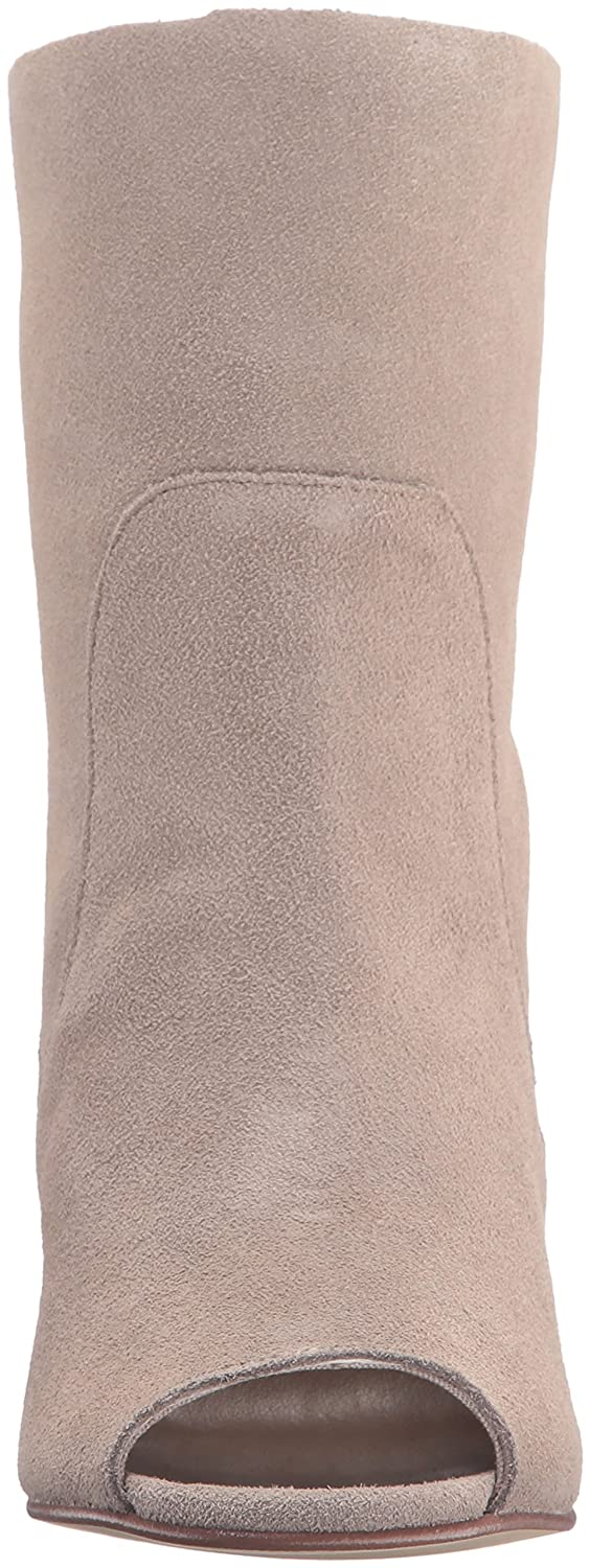 Chinese Peep Laundry Women's Tom Girl Peep Chinese Toe Boot B01AX1AORO 9 B(M) US|Taupe Suede 542905