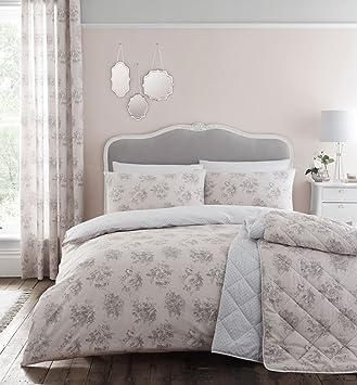 catherine lansfield housse de couette blush rose poudr parure de lit 2 - Parure De Lit Rose Poudre