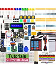 Freenove RFID Starter Kit for Raspberry Pi 4 B 3 B+, 423 Pages Detailed Tutorials, Python C Java, 204 Items, 53 Projects, Learn Electronics and Programming, Solderless Breadboard