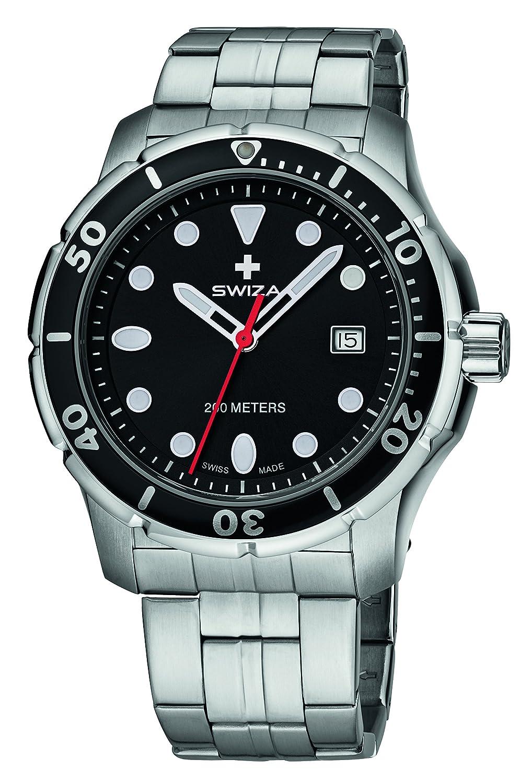 SWIZA Tetis Edelstahlarmband 316L Luxus Uhr - Mehrfarbig - 316 Liter