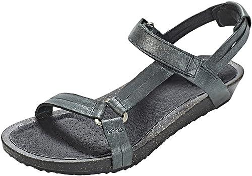 cd31ac3d19b7 Teva Ysidro Universal Metallic Sandals Women Silver Shoe Size US 5