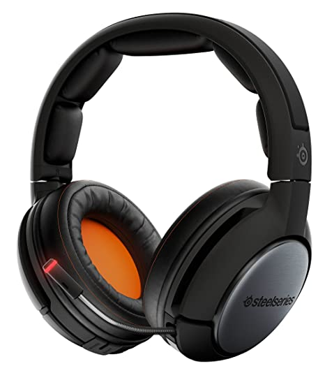 SteelSeries Siberia 840 - Auriculares para juego, Wi-Fi, Bluetooth, Dolby Surround 7.1, (PC / Mac / Playstation / Xbox / móvil) , color negro