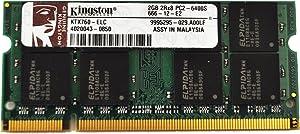 For Laptops only - 2GB Kingston KTX760-ELC DDR2 SODIMM 200PIN
