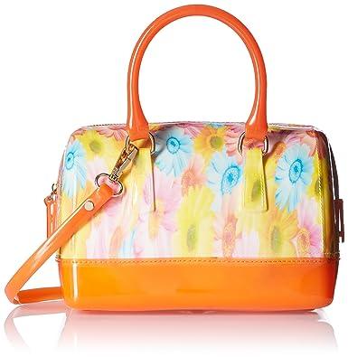 47d694ef48c4 Marie Claire Women s Satchel (Orange) (F93351270000HF)  Amazon.in ...