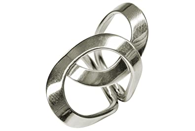 Cercles Xl Dames Chevauchant Bague Silbermoos Large Collection SMpqUzV