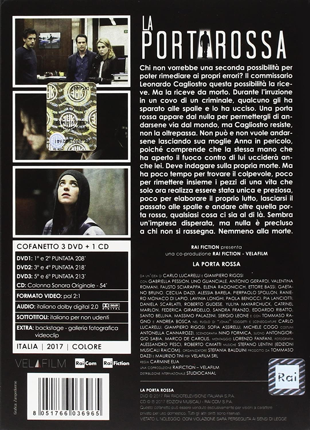 La Porta Rossa 3 Dvdcd Box Set Dvd Italian Import Amazon