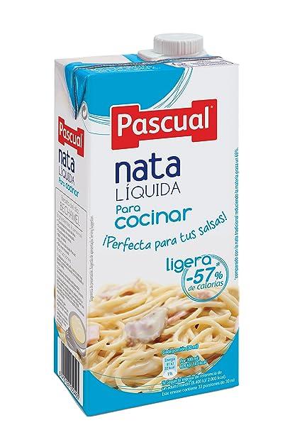 Pascual Nata Líquida ligera para Cocinar - 1 l
