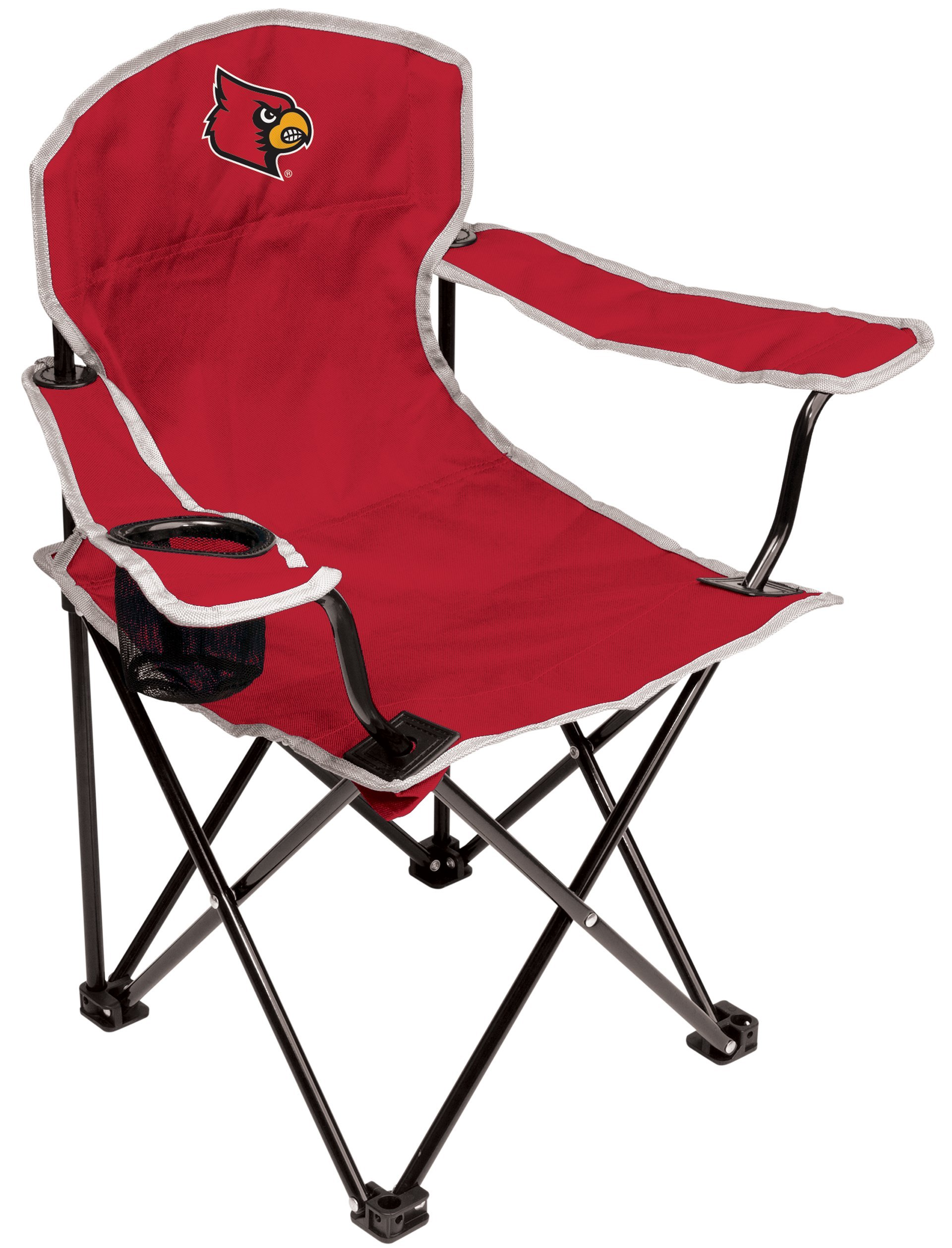 NCAA Louisville Cardinals Youth Folding Chair, Red