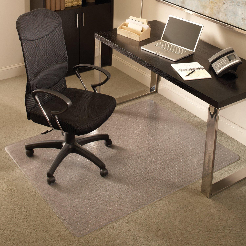 Anchormat Medium Pile Carpet Beveled Edge Chair Mat Size: 46'' x 60''