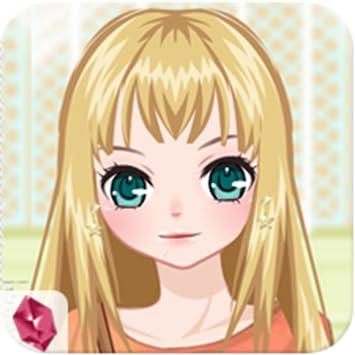 Amazon Com Cute Anime Girl Fashion Dress Up Face Makeup
