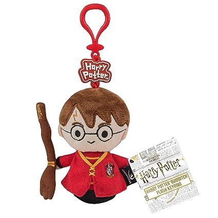 Cinereplicas Llavero de Felpa - Licencia Oficial - Harry Potter con Nimbus 2000 - Quidditch Marca/Manufactura Couleur : Multi