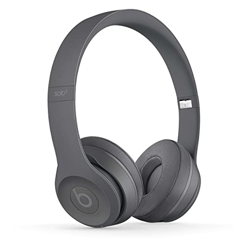 Beats by Dr Dre Solo3 Wireless On-Ear Headphones - Neighborhood Collection - Asphalt Gray