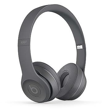 Beats by Dr Dre Solo3 Wireless On-Ear Headphones - Neighborhood Collection  - Asphalt Gray 1c6afb95d076