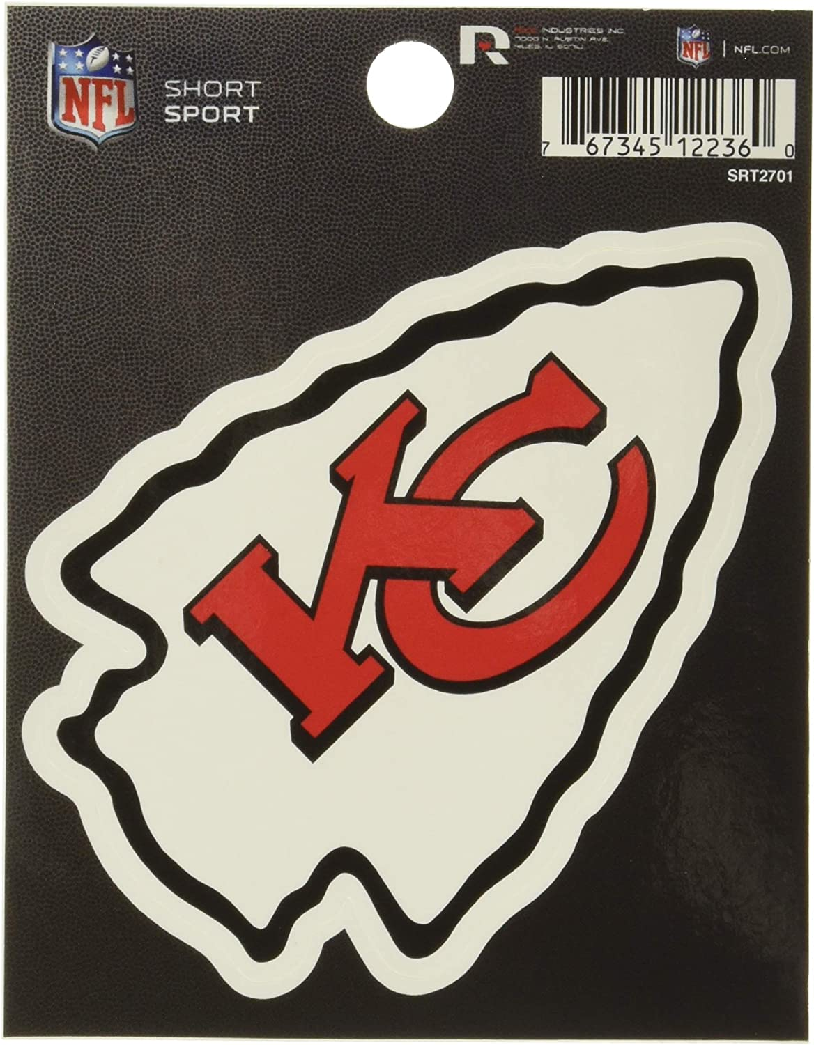 Rico NFL Short Sport Decal
