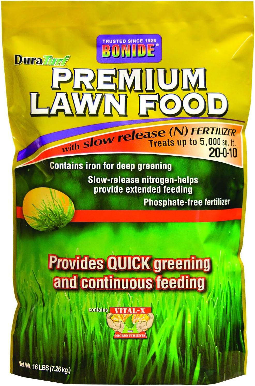 Bonide Products INC 60460 009030 Premium Lawn Food, 5M