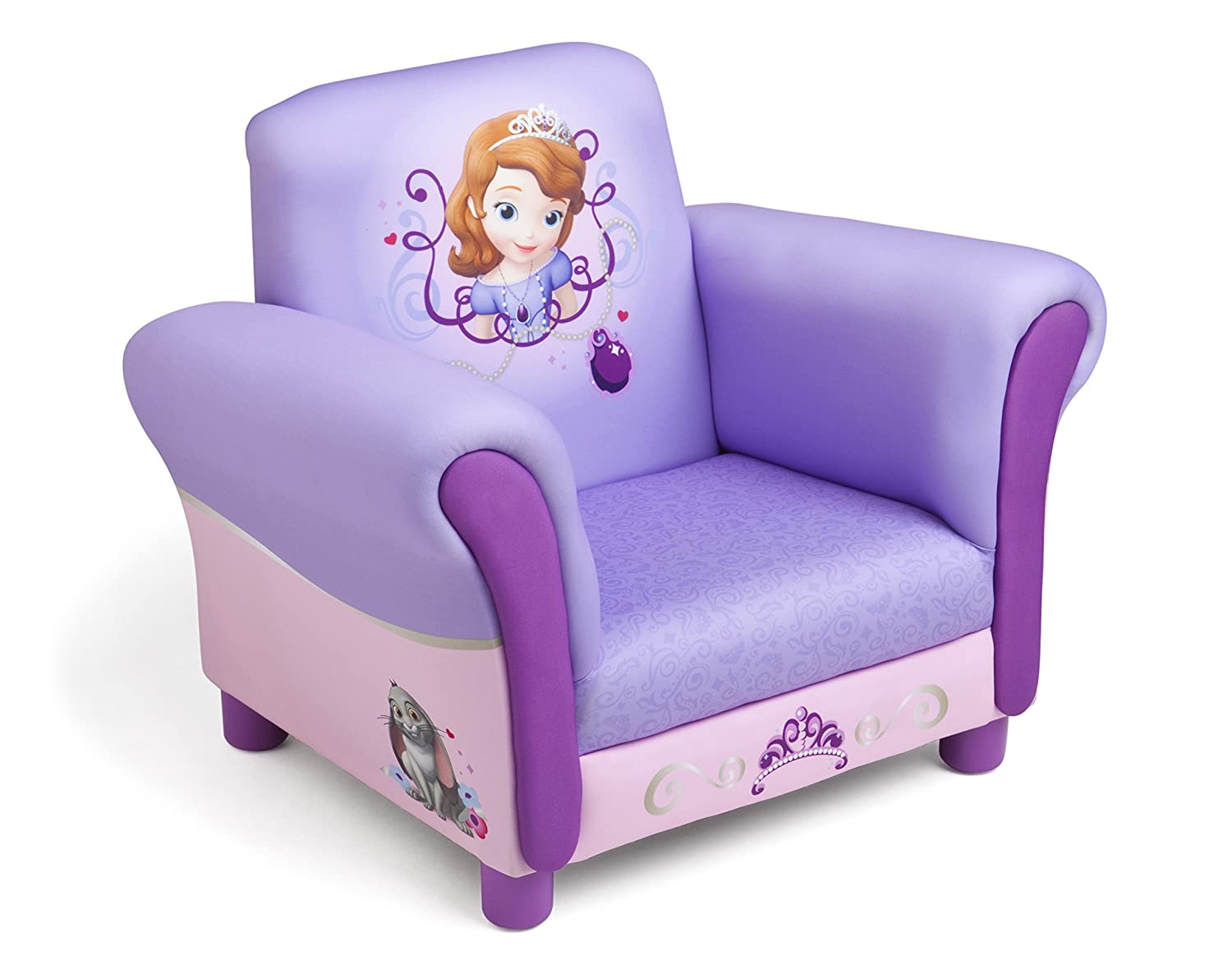 Amazon.com Disney Sofia the First Upholstered Chair by Delta Kitchen u0026 Dining  sc 1 st  Amazon.com & Amazon.com: Disney Sofia the First Upholstered Chair by Delta ... islam-shia.org