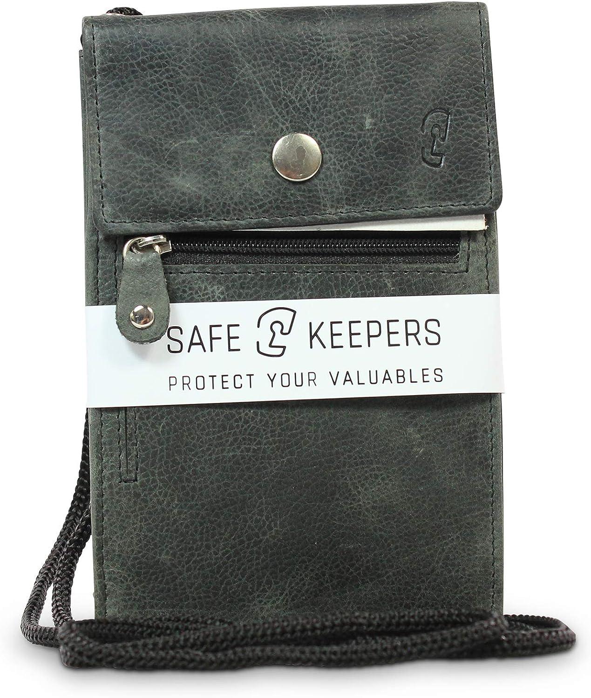 Safekeepers Bolso Bandolera de Piel