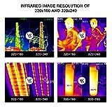 320 x 240 IR Resolution Thermal