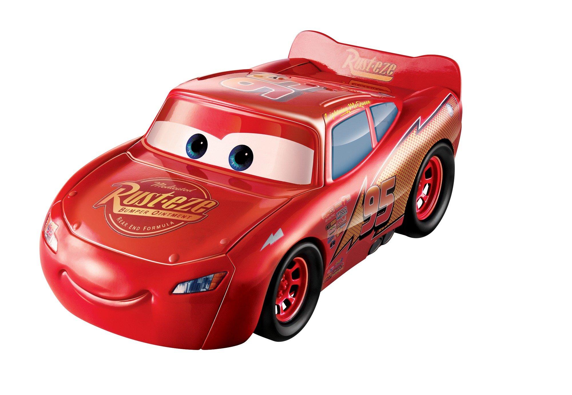Disney Pixar Cars 3 Transforming Lightning McQueen Playset
