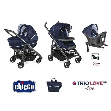 Trio Love up i-size cochecito + portabebés + siège-auto India Ink - Chicco: Amazon.es: Bebé