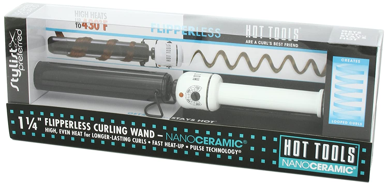Hot Tools Professional Nano Ceramic Flipperless Curling Wand