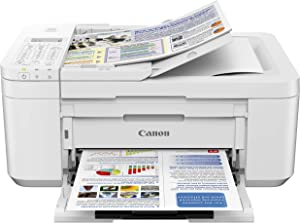 Canon PIXMA TR4520 Wireless All in One Photo Printer with Mobile Printing, White, Amazon Dash Replenishment Ready