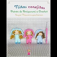 Niñas conejitas, Patrón de Amigurumi a Crochet (Spanish Edition)