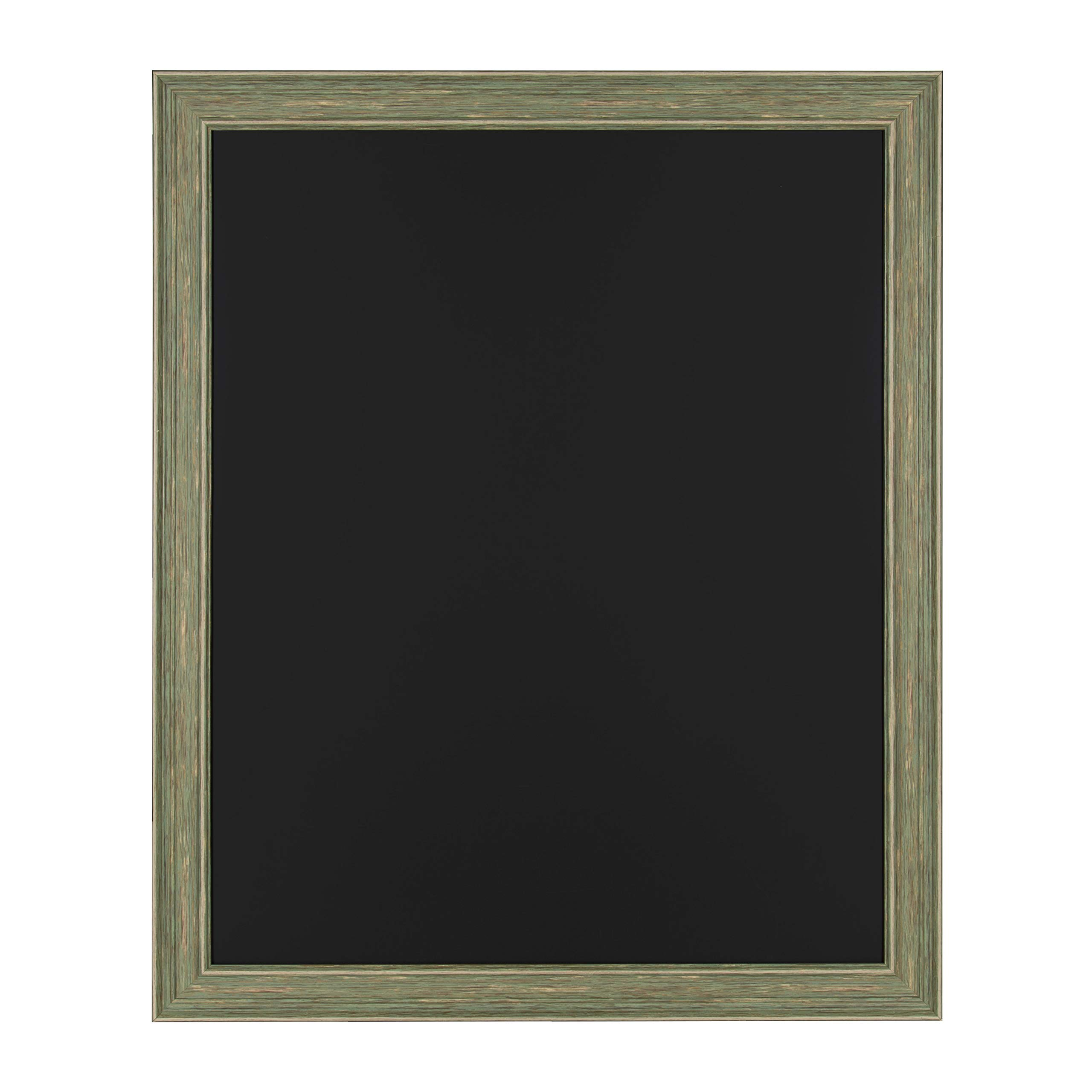 Kate and Laurel Harvest Decorative Magnetic Chalkboard, 27.5 x 33.5 Inches, Rustic Green by Kate and Laurel