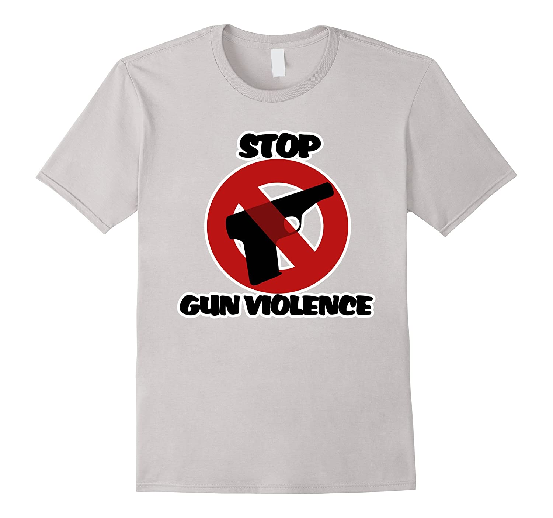 Stop Gun Violence Shirt Anti Gun Mass Shooting T Shirt Bn Banazatee
