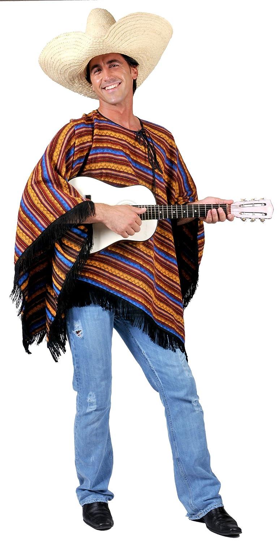 Funny Fashion 601089 - Disfraz de mejicano para hombre: Amazon.es ...