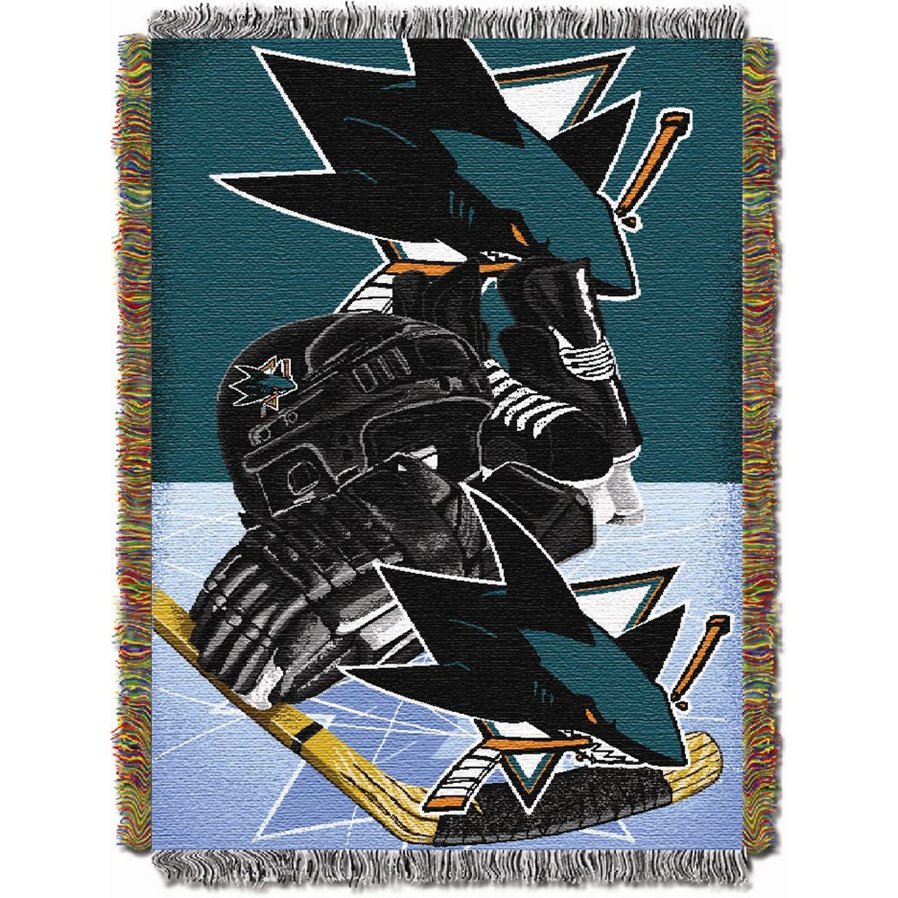 new arrive a45fe e7864 48 x 60 48 x 60 The Northwest Company NHL051010024RET Home   Garden Throw  Blankets NHL Vancouver Canucks Homefield Ice Advantage Woven Tapestry Throw