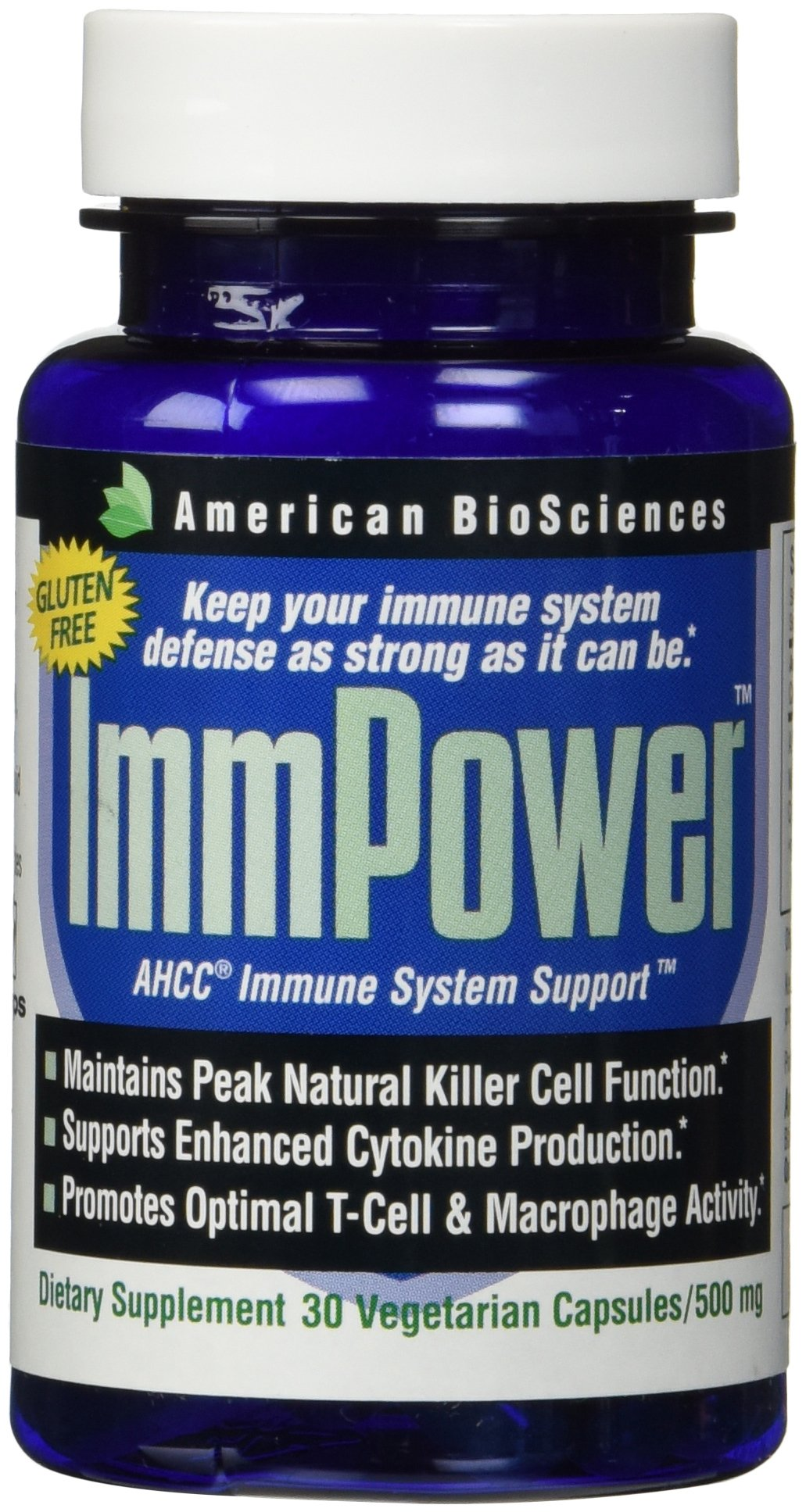 American Biosciences ImmPower, 500mg 30 Count