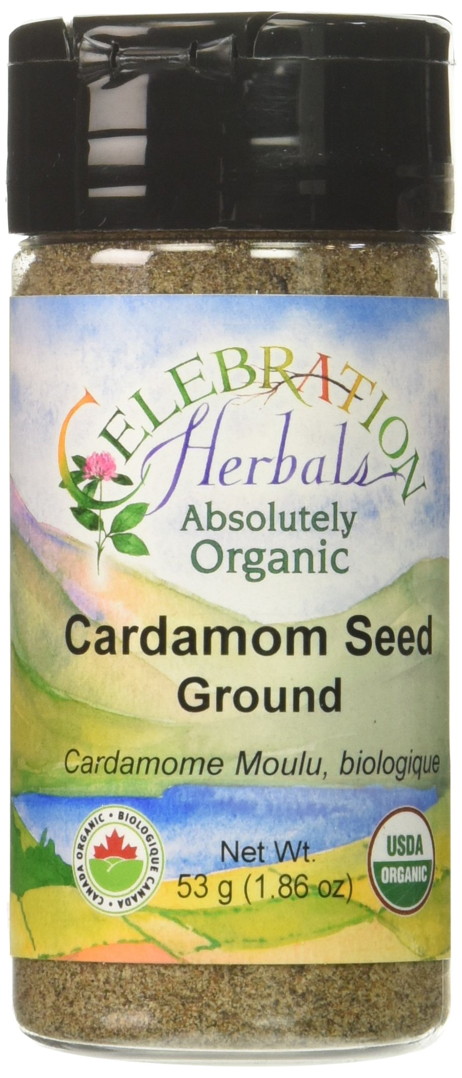 CELEBRATION HERBALS Cardamon Seed Ground Organic 50 g, 0.02 Pound by Celebration Herbals (Image #1)