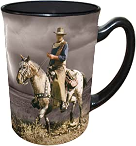 John Wayne Mug - 16 oz - Courage Storm